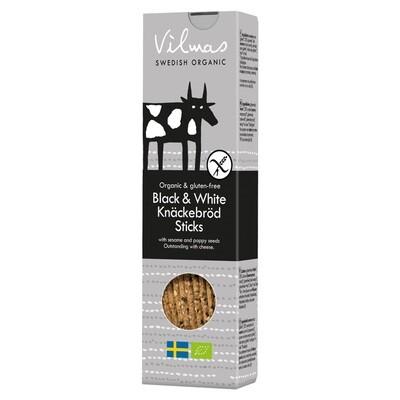 Black and White Organic Sticks 120g