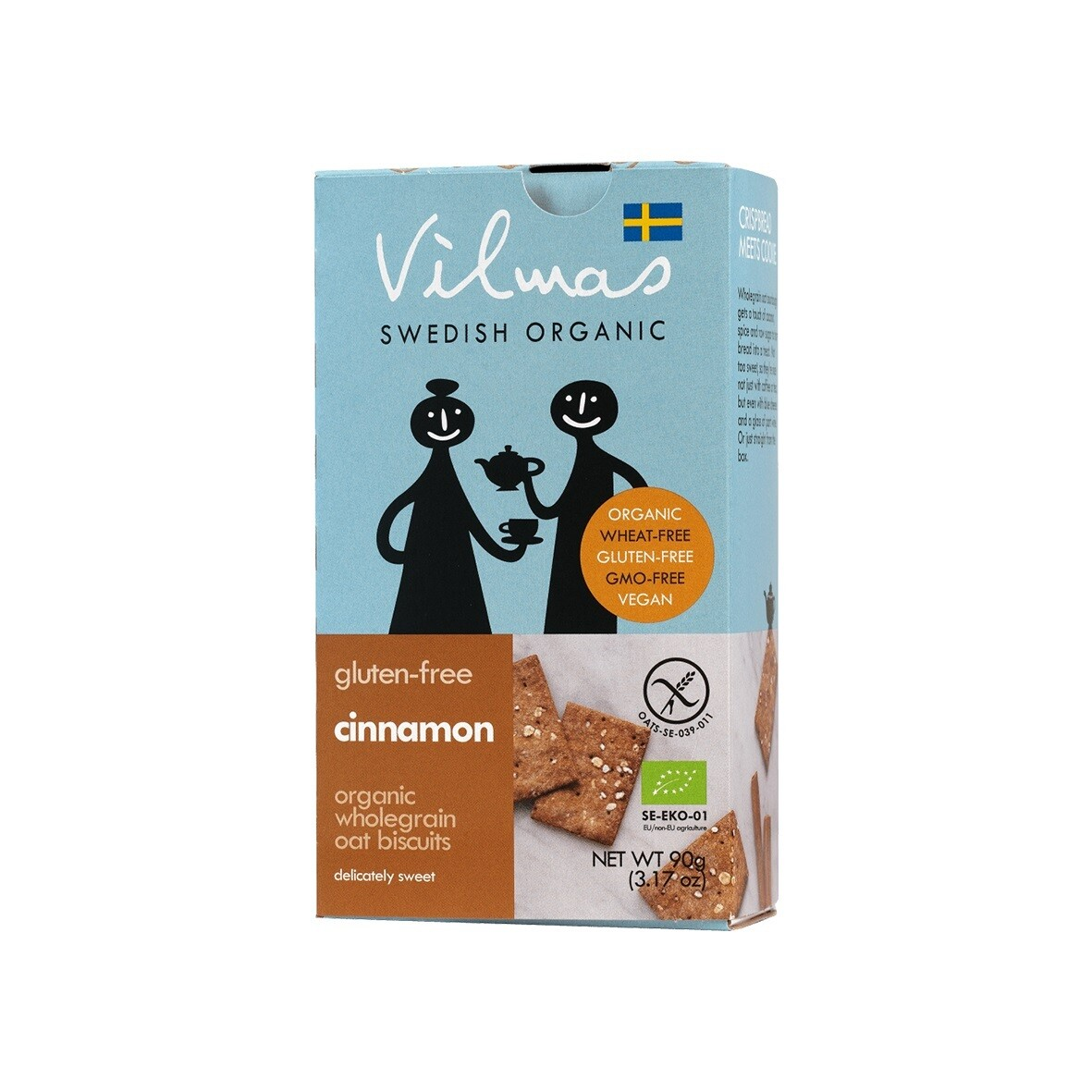 Cinnamon Organic Crackers 90g