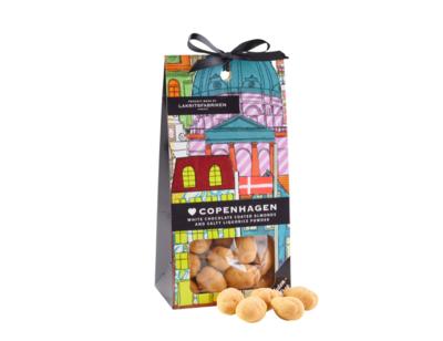 Copenhagen Liquorice Almonds 150g