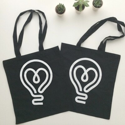 8tea5 Tote Bag [Lightbulb]