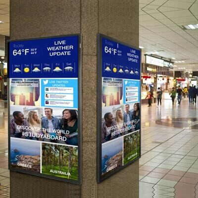 Digital Signage Solutions for Malls