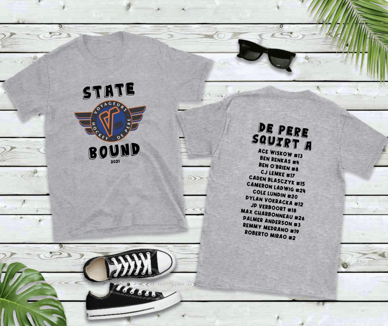 DE PERE STATE BOUND SHIRTS