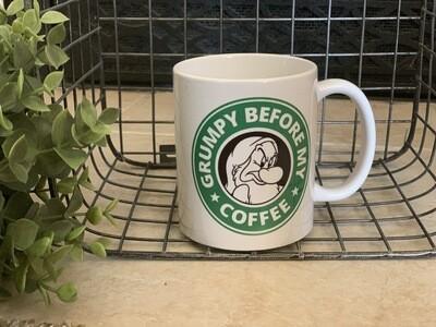 Grumpy before my coffee