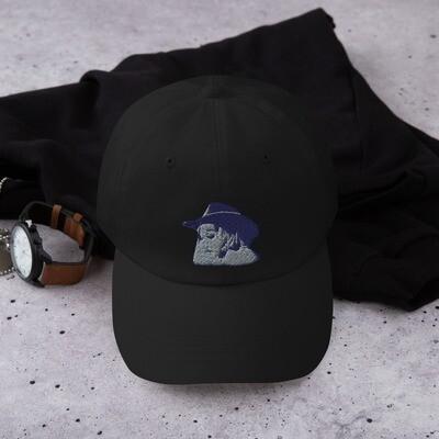 COWBOY SILHOUETTE DAD CAP