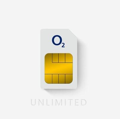 O2 Unlimited Data Sim 90 Days Rolling