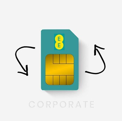 EE Replacement Sim Card - Corporate Customers (Free DPD Shipping)