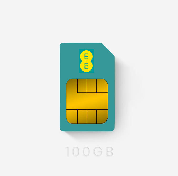 EE Data Sims Offer 100GB £21pm