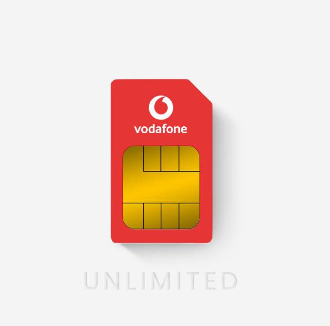 Vodafone Unlimited Data Sim 90 Day Rolling