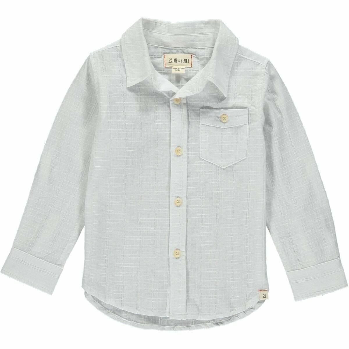 Daddy White Cotton Shirt