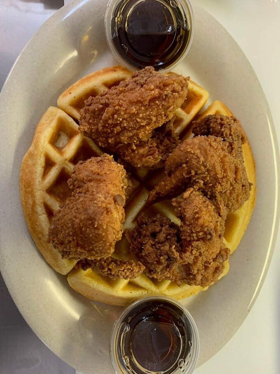"#2 "" Netta's Chicken & Waffles"""