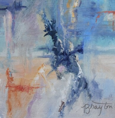 Julie Brayton Fine Art Abstract Energy in Motion Print