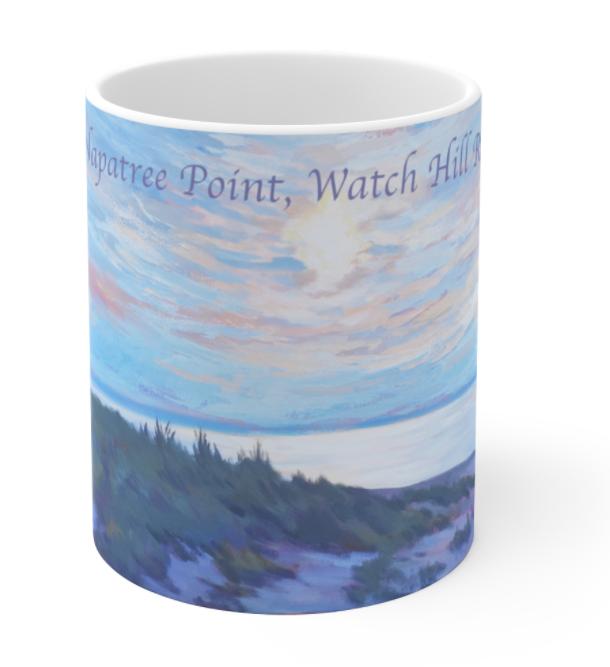 Napatree Rhode Island Mug