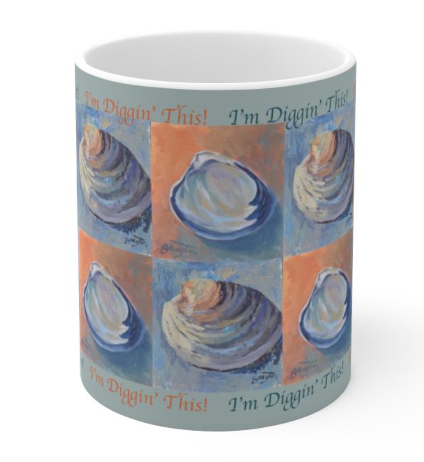 Shell Design Mug