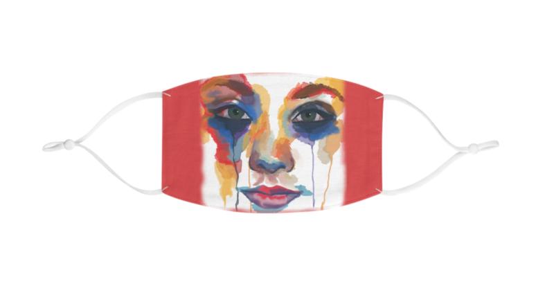 Multicolored Face Face Mask