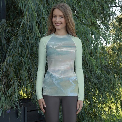 Wave Inspired Women's Rash Guard
