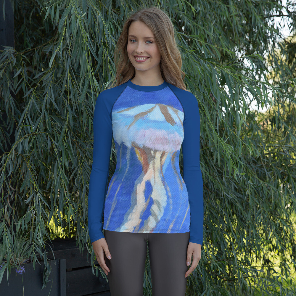 Jellyfish Women's Rash Guard