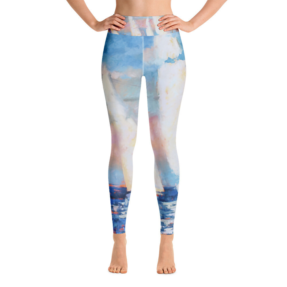 Sailor's Delight Yoga Leggings