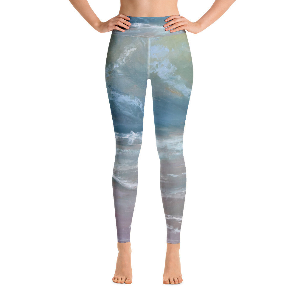 Yoga Leggings Of The Sea