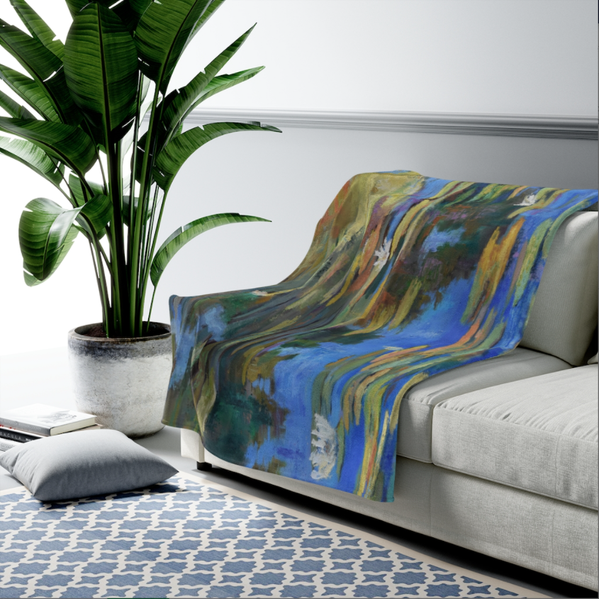 Lily Impressions Velveteen Plush Blanket
