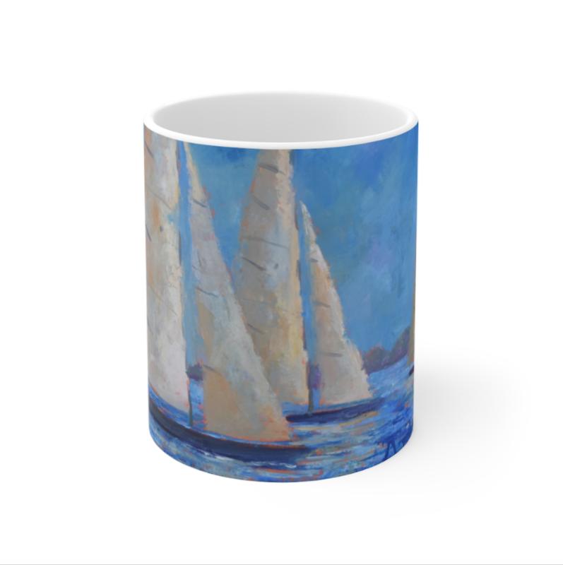 Sails Before The Storm Mug 11oz