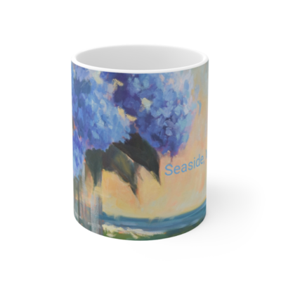Hydrangeas By The Sea Mug 11oz