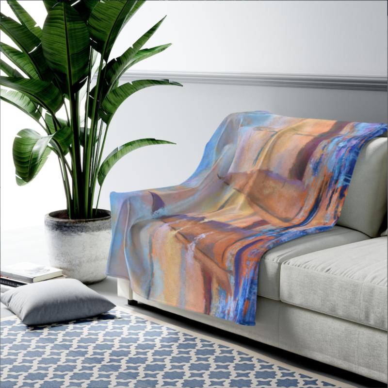 Sailor's Delight Velveteen Plush Blanket