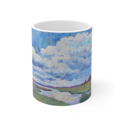 Cloudy Marsh Mug 11oz