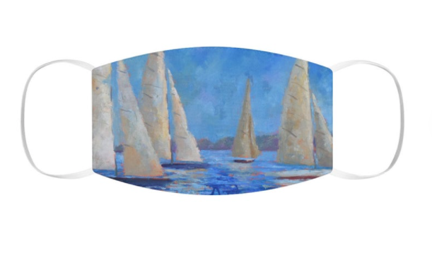 Sail Before The Storm Snug-Fit Polyester Face Mask