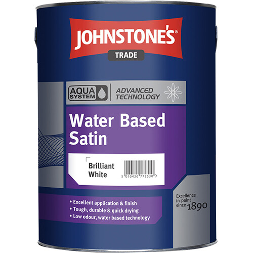 JOHNSTONE'S AQUA WATER BASED SATIN