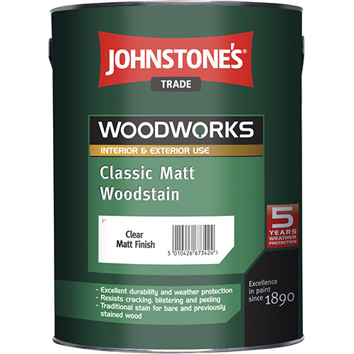 JOHNSTONE'S CLASSIC MATT WOODSTAIN