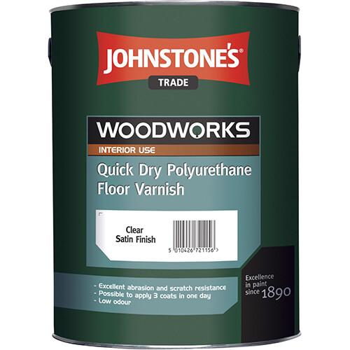 JOHNSTONE'S QUICK DRY POLYURETHANE FLOOR VARNISH