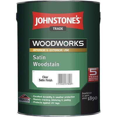 JOHNSTONE'S SATIN WOODSTAIN