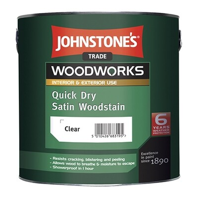 JOHNSTONE'S QUICK DRY SATIN WOODSTAIN