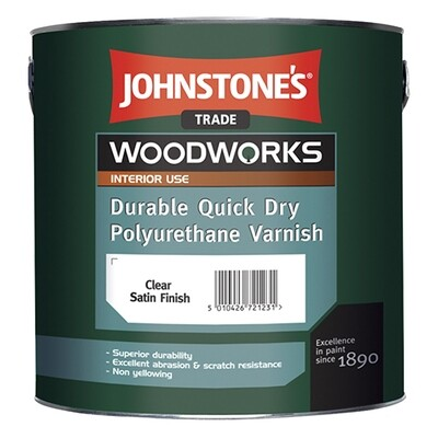 JOHNSTONE'S DURABLE QUICK DRY POLYURETHANE VARNISH