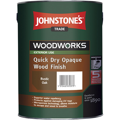 JOHNSTONE'S QUICK DRY OPAQUE WOOD FINISH