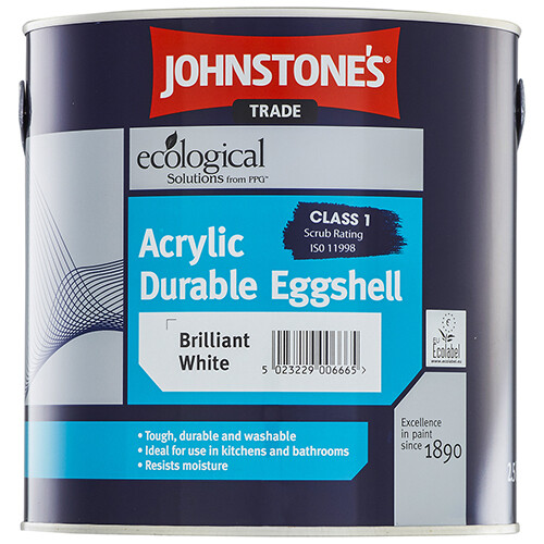 JOHNSTONE'S ACRYLIC DURABLE EGGSHELL