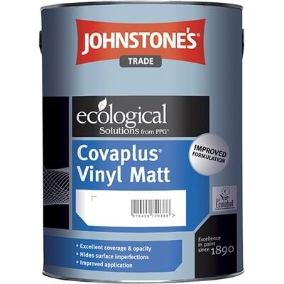 JOHNSTONE'S COVAPLUS VINYL MATT Водоэмульсионная краска для стен и потолков 4,75л. (M)