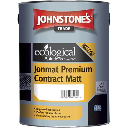 Краска водоэмульсионная Johnstone's Jonmat Premium Contract Matt 5л. (L)