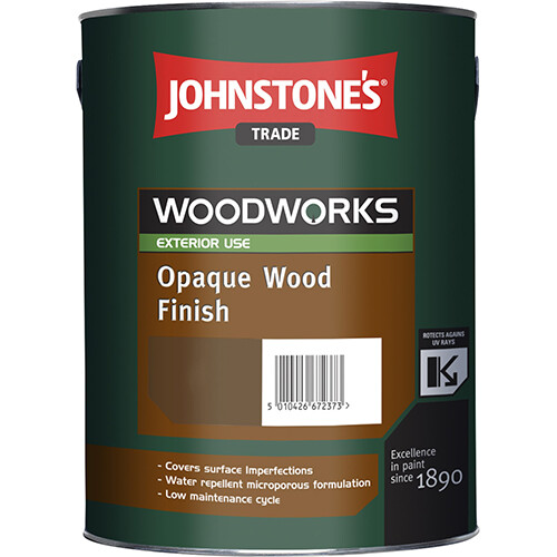Краска по дереву JOHNSTONES OPAQUE WOOD FINISH (Алкидная 2,5л BW)