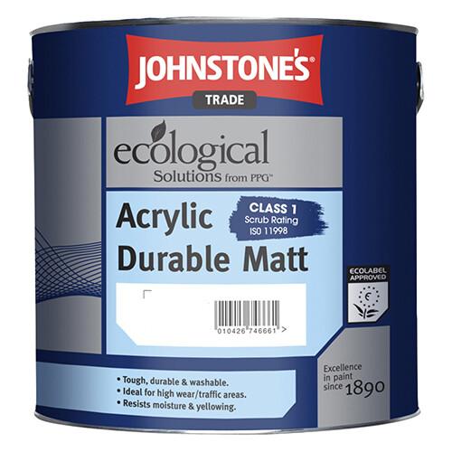 Краска интерьерная JOHNSTONES Acrylic Durable Matt 2,37 л. (M)