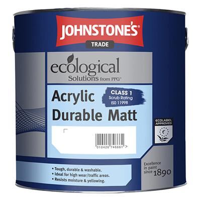 Краска интерьерная JOHNSTONES Acrylic Durable Matt 10 л. (BW)