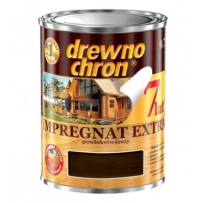 Пропитка пленкообразующая Drewnochron Impregnat Extra 4,5 л. (Белый)