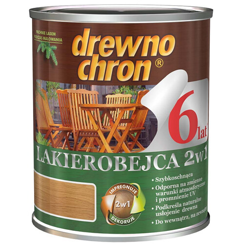 Лакоморилка  Drewnochron водная  2в1 0,8 л. (Палисандр)