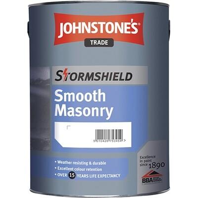 Акриловая краска Johnstones Stormshield Smooth Masonry  для наружных работ  10 л. (BW)