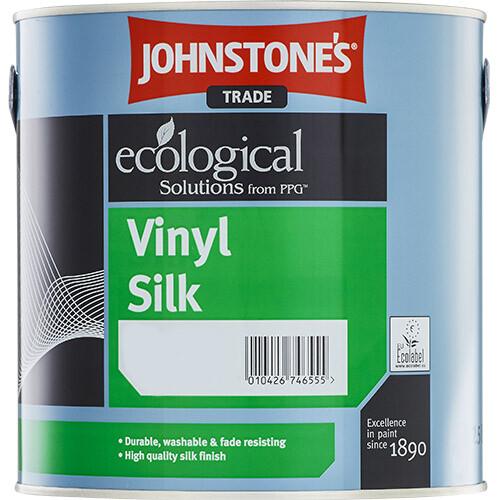 Краска для стен и потолков  Johnstone's Vinyl Silk 2,5 л. (BW)