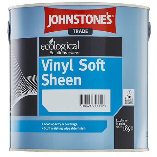 Водоэмульсионная краска Johnstones Vinyl Soft Sheen для внутренних работ 2,5 л. (BW)