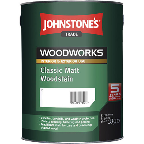 Защитный состав Johnstone's Classic Matt Woodstain 2,5 л. (Орех грецкий)