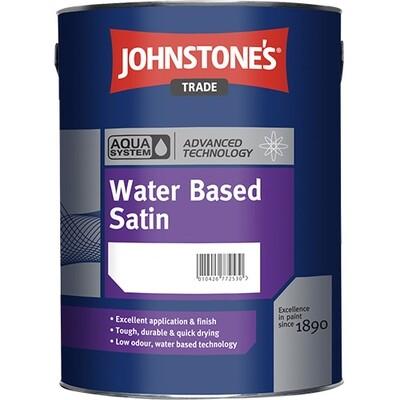 Универсальная краска Johnstone's Aqua Water Based Satin 2,5 л. (BW)