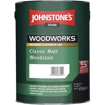 Защитный состав Johnstone's Classic Matt Woodstain 2,5 л. (Красное дерево)