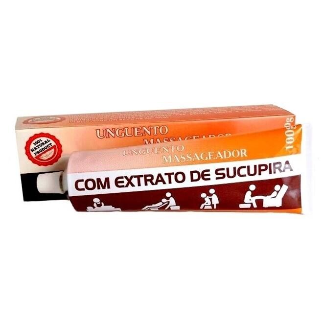 UNGUENTO MASSAGEADOR COM EXTRATO DE SUCUPIRA 100GR
